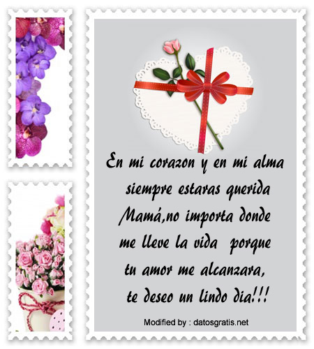 Bonitos Mensajes Para Enviar Por El Dia De La Madre Frases Por El