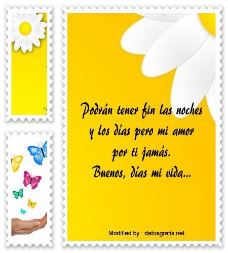 Nuevas Frases De Buenos Dias Para Una Mujer Buenos Dias Amor