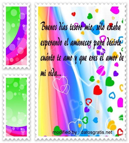 Mensajes De Buenos Dias Para Una Mujer Frases De Amor