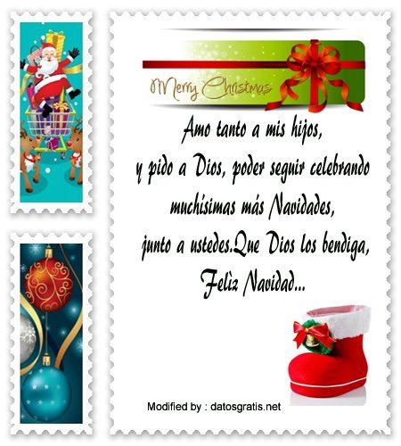 Tarjetas Con Palabras De Navidad Para Mi Hijo Saludos De