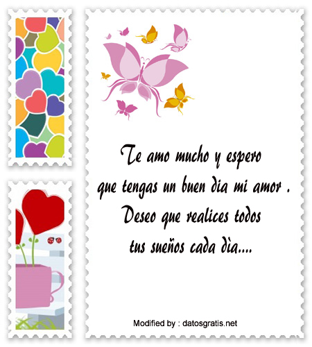 Mensajes De Buenos Dias Para Mi Novio Saludos De Buenos Dias