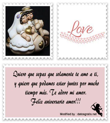 Bonitas Frases Para Aniversario De Enamorados Mensajes De