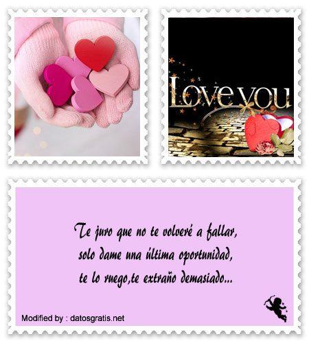 Bellos Mensajes Para Recuperar A Mi Amor Frases Para