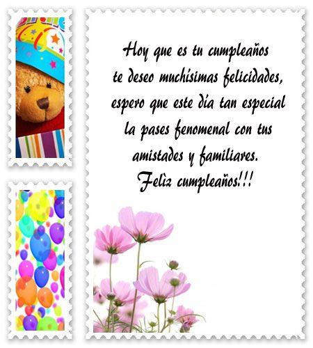 Buscar Bonitas Frases De Cumpleaños Para Mi Amiga Mensajes
