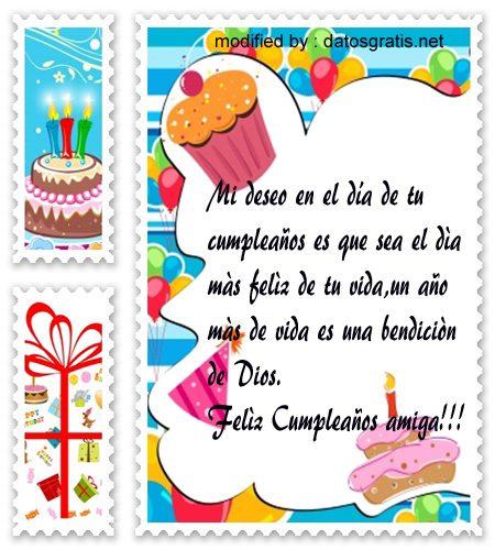 Bonitos Saludos De Cumpleaños Para Mi Amiga Mensajes De