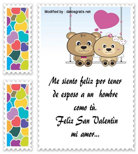 Mensajes Para Mi Esposo Por El Dia De San Valentin Frases De Amor