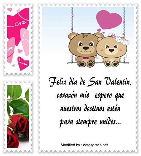 Mensajitos De San Valentín Para Mi Novio Frases De Amor