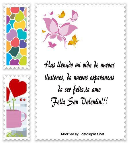 Mensajitos De San Valentin Para Mi Novio Frases De Amor