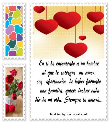 Frases De Amor Para Dedicar A Mi Esposo Mensajes De Amor