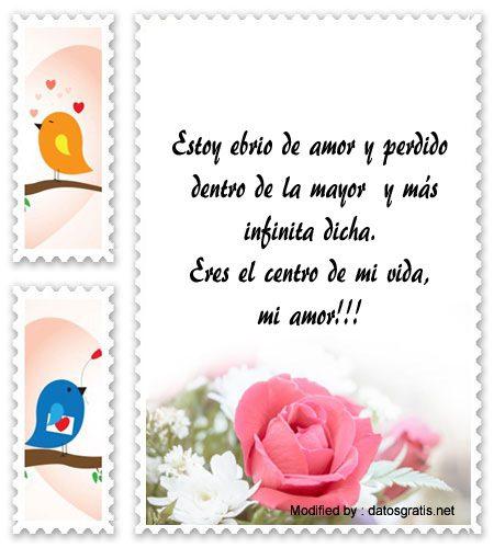 Mensajes Bonitos De Amor Para Mi Novia Tarjetas De Amor