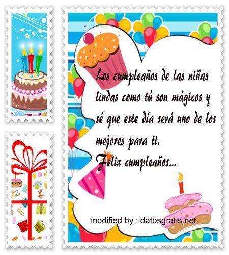 Felicitaciones De Cumpleanos Para Nina De 1 Ano.Lindas Imagenes Con Frases De Cumpleanos Para Una Nina