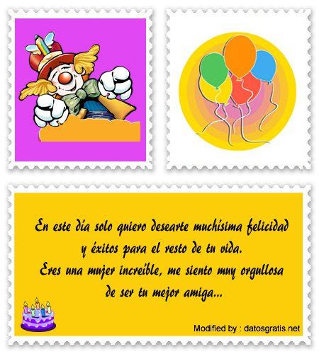 Cartas De Cumpleaños Para Mi Amiga Saludos De Cumpleaños