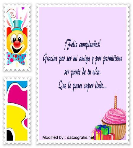 Mensajes Y Cartas De Cumpleaños Para Mi Amiga Con Imàgenes