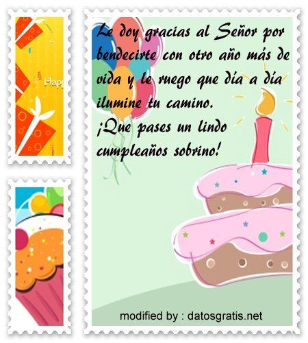 Tarjetas Con Textos De Cumpleaños Para Un Sobrino