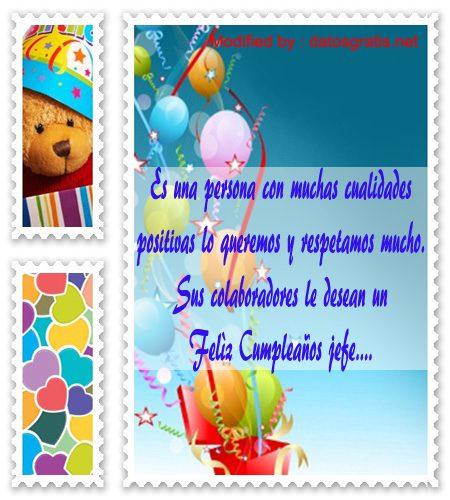 tarjetas con saludos de feliz cumpleaños para mi jefe datosgratis net