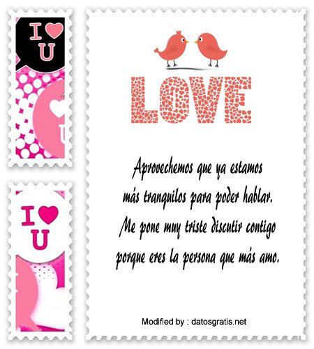 Mensajes De Amor Para Mi Novio Molesto Frases De Perdòn