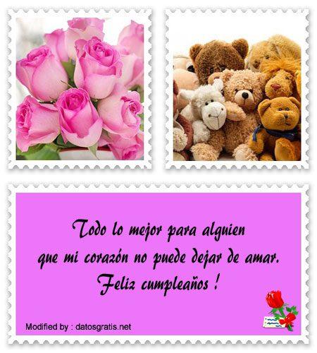 Bellas Frases De Cumpleaños A Mi Amor Mensajes De Cumpleaños