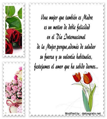 Frases Por Dia De La Mujer A Las Mamas Saludos Por Dia De La Mujer