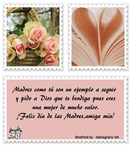 Saludos De Feliz Día De La Madre A Mi Mejor Amiga Mensajes