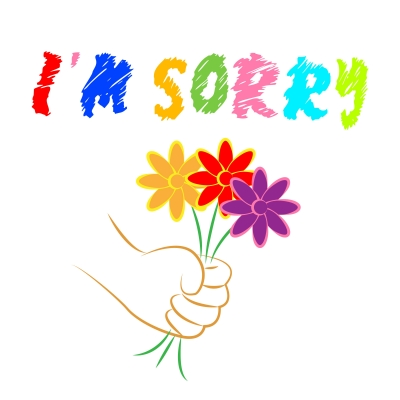 nuevas frases bonitas de perdon, palabras de perdon