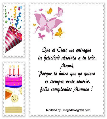 Frases Y Cartas De Cumpleaños Para Mi Madre Mensajes De