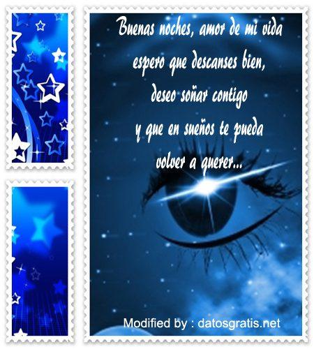 Romanticos Mensajes Y Tarjetas De Buenas Noches Para Enviar