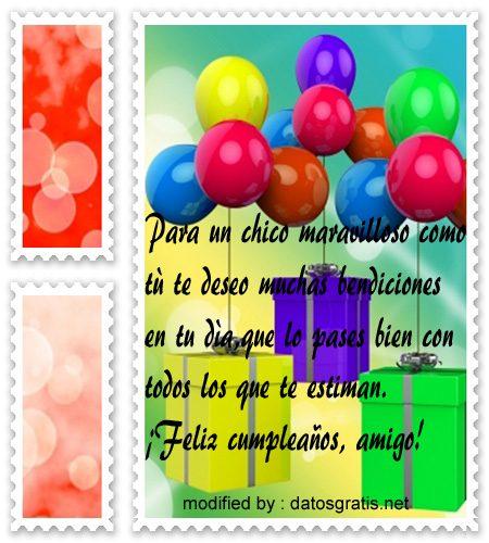 Imágenes Con Mensajes Bonitos De Cumpleaños Para Hombres