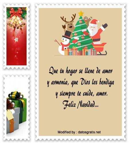 Tarjetas De Navidad Para Mi Novia Saludos De Navidad Datosgratis Net