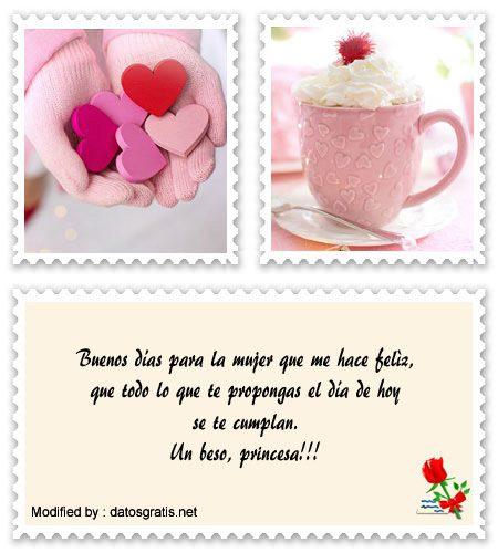 Mensajes De Buenos Dias Para Mi Novia Frases Romanticas De