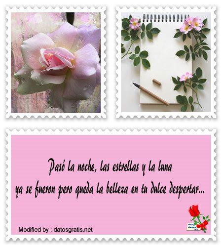 Bonitos Textos Románticos De Buenos Días Saludos De Buen