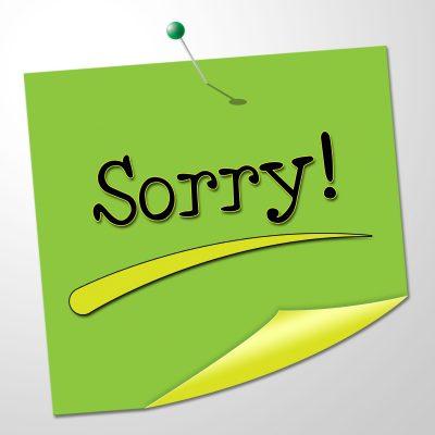 descargar mensajes de disculpas, nuevas palabras de disculpas