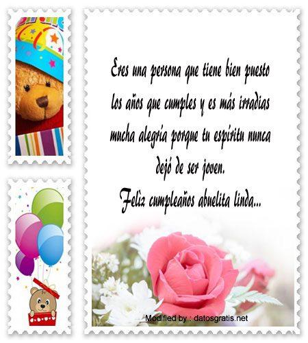 Mensajes De Cumpleaños Para Mi Abuela Saludos De Cumpleaños