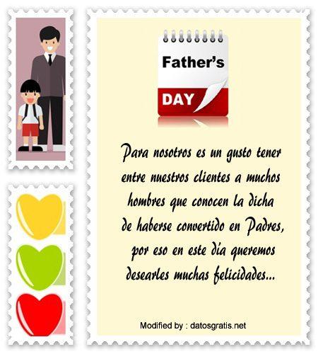Papá De Ambos Calidad Día Del Padre Tarjeta Con Palabras