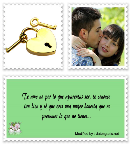 Mensajes De Amor Para Enamorar Frases Románticas Para Novios