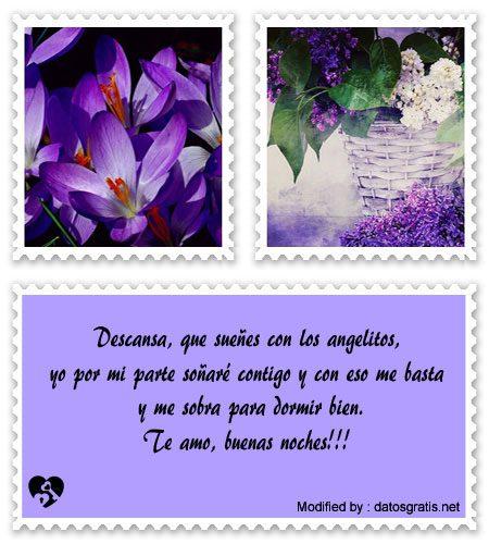 Mensajes De Buenas Noches A Mi Amor Frases Buenas Noches