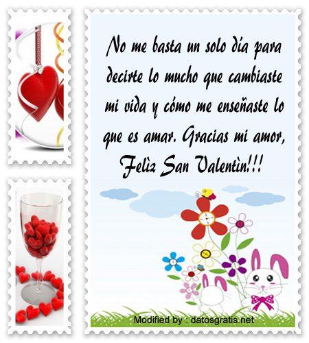 Mensajes De San Valentin Para Mi Novio Frases De Amor