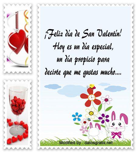 Tarjeta de San Valentín alguien especial al que me gusta en la tarjeta de día de San Valentín