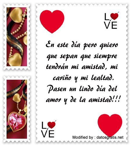 Mensajes De Amistad En San Valentin Frases De Amistad