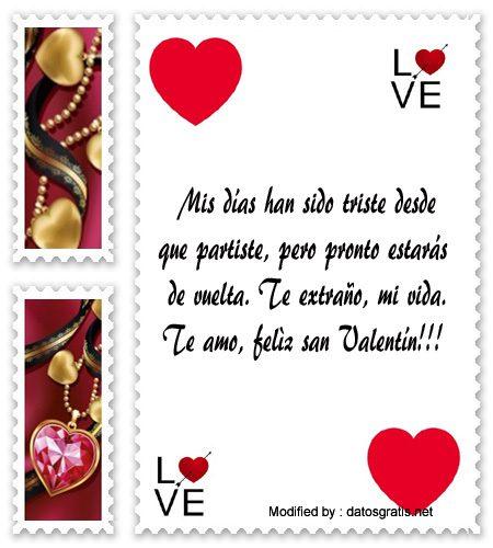 Feliz San Valentin Para Un Novio Que Esta Lejos Mensajes De Amor