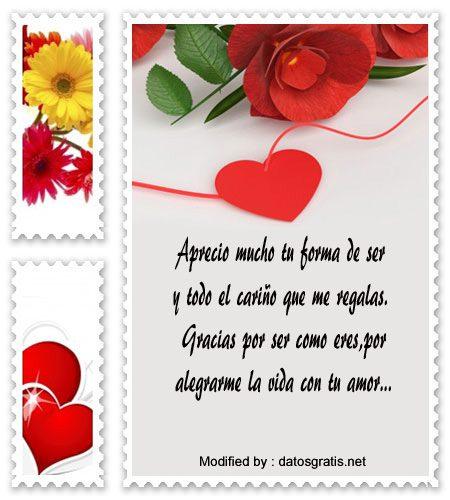 Bonitos Mensajes De Agradecimiento Para Tu Pareja Frases De Amor