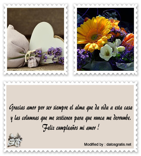 Bonitos Mensajes De Cumpleanos Para Tu Amor Saludos De Cumpleanos