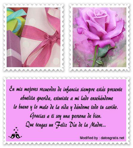 Lindos Mensajes Por El Día De La Madre Para Mi Abuela Saludos Por