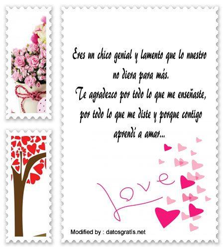 Frases De Agradecimiento Para Mi Ex Novio Mensajes Para Ex Amor