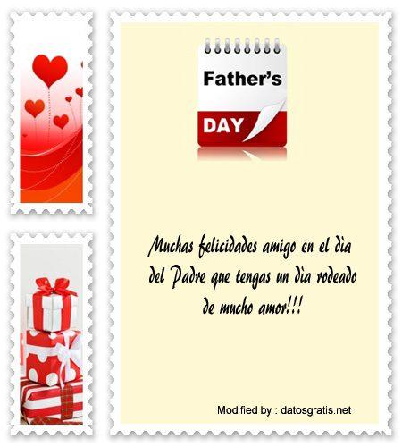 Bonitos Mensajes Por El Día Del Padre Para Mis Amigos