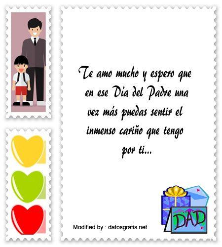 Originales Mensajes Por El Día Del Padre Para La Dedicatoria