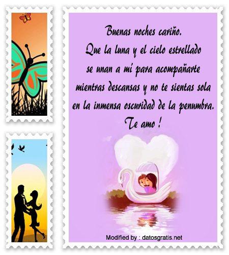 Top Mensajes De Buenas Noches Para Mi Novia Mensajes Romanticos