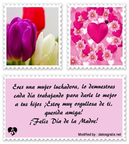 Lindos Mensajes Por El Día De La Madre Para Una Amiga