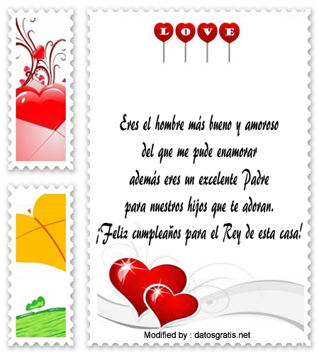 Nuevas Frases De Amor Para El Cumpleanos De Mi Esposo Saludos De