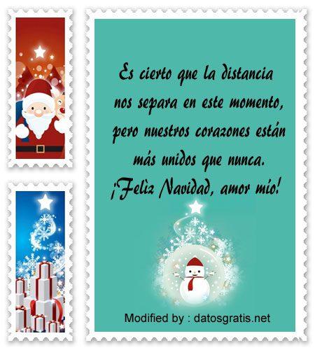 Mensajes de navidad desde la distancia
