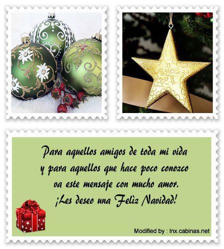 Lindos Mensajes De Navidad Para Mis Amigosfrases De